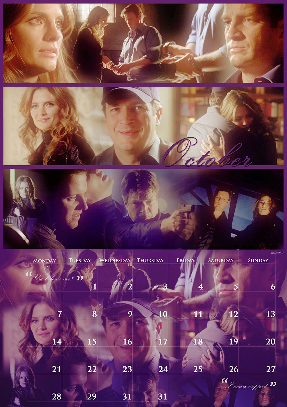 Castle & Beckett 2013 (October)